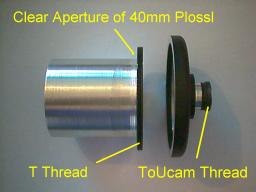 40mm Plossl with T Thread