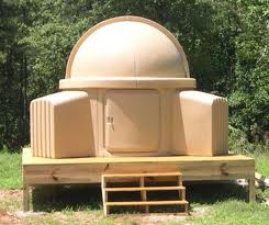 Skyshed Pod on Platform