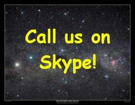 Call us on Skype