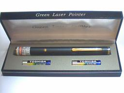 Green Laser Pointers and Modules